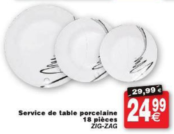 Service de table cora vaisselle maison for Service de table cora