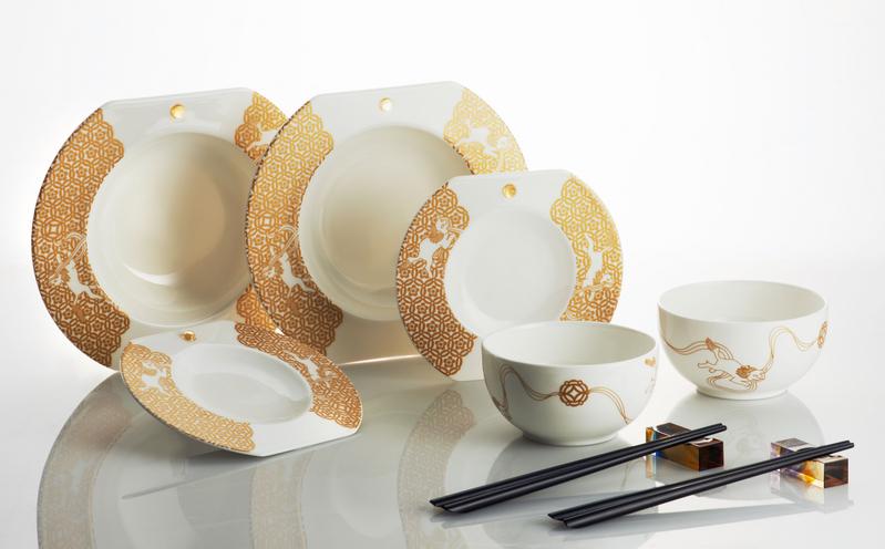 Exemple service de table design vaisselle maison for Service de table chinois