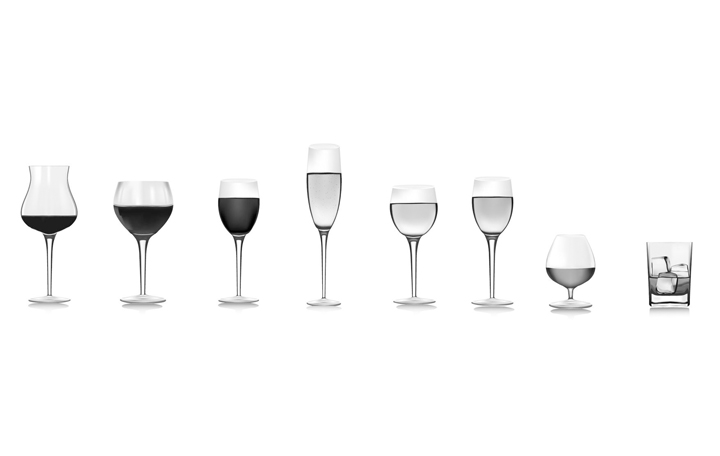 id e verre a vin rouge et blanc vaisselle maison. Black Bedroom Furniture Sets. Home Design Ideas