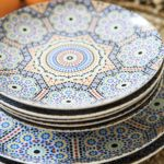 assiette plate marocaine