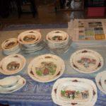service de table alsacien