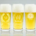 verre a biere grave personnalise