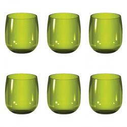 verre a eau vert