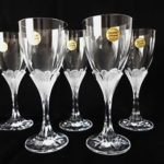 verre a vin cristal d'arques granville