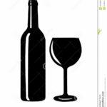 verre a vin silhouette