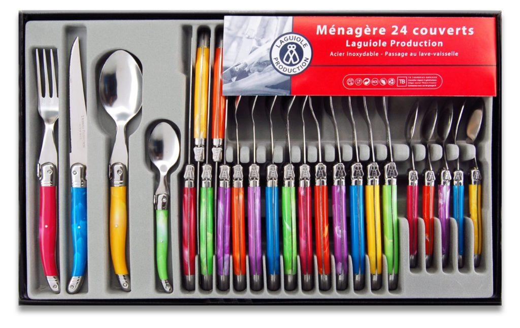 menagere 24 pieces leclerc