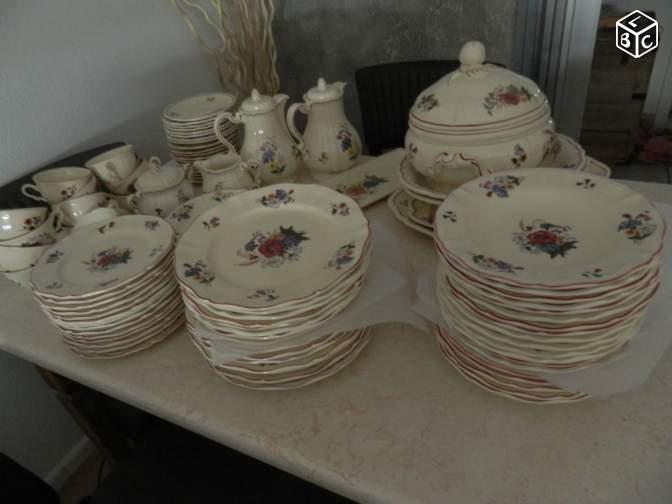Service de table sarreguemines agreste vaisselle maison - Service vaisselle maison du monde ...