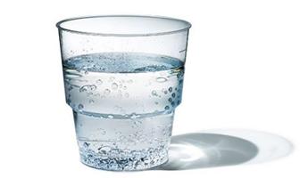 verre a eau bulle