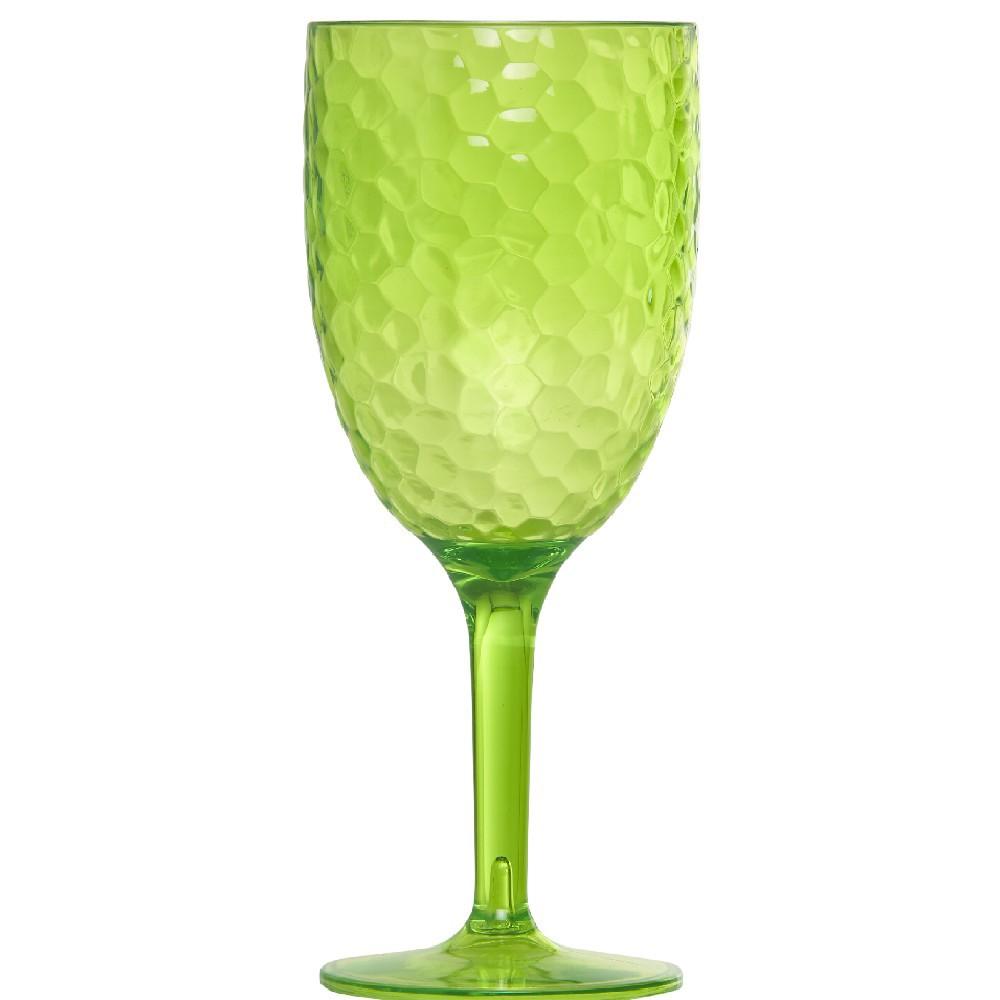 verre a pied plastique rigide