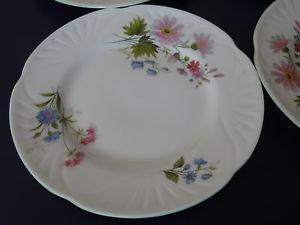 Photo assiette a dessert en anglais vaisselle maison for Couvert de table en anglais