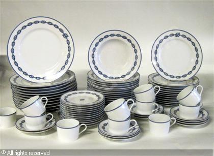 d0eb1e616651 ambiance service de table hermes chaine d ancre - Vaisselle Maison