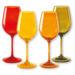 verre a vin de couleur
