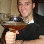 verre biere flambee