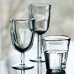 verres a eau fumes