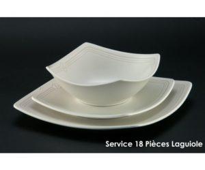 assiette plate laguiole