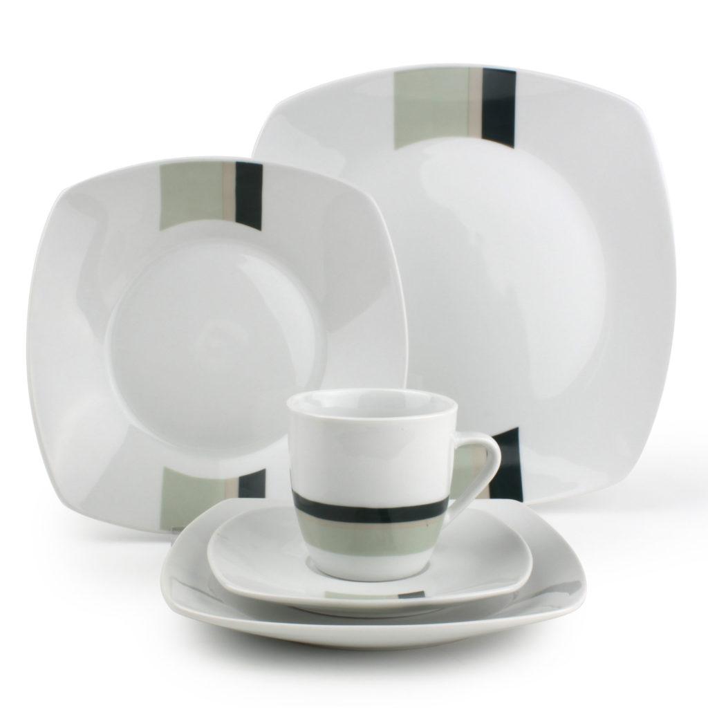 exemple service de table porcelaine moderne - Vaisselle Maison db72e34f73a