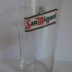 verre biere san miguel