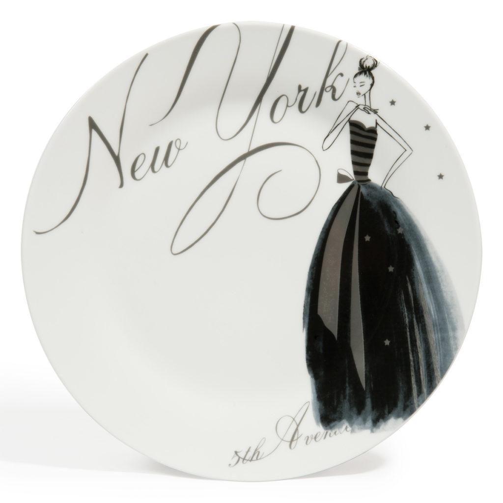assiette plate new york