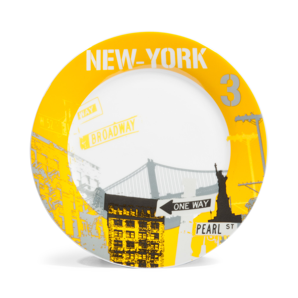 assiette plate new york