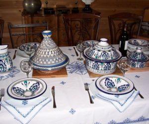 service de table a couscous