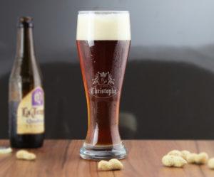 verre a biere personnalise