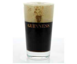 verre a pied guinness