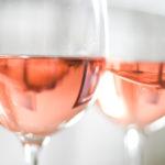 verre a vin rose